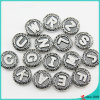 New Arrival Letter Snap Buttons for Leather Bracelet Jewelry