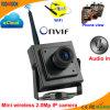 2.0 Megapixel P2p Wireless Miniature IP Network Web Camera