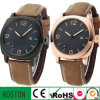 Customised Design Leather Strap Watch with Calendar