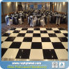 Wholesale White and Balck Polished Luxury Dance Floor for Rental