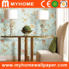 Waterproof PVC Flower Wallpaper with Six Different Colors