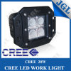 CE-Approval 12W LED Car Work Light with Aluminum Alloy Housing