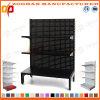 3 Level Customized Supermarket Hole Back Wall Display Shelving Unit (Zhs566)