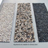 Black/White/Mixed Color Handmade Floor Stone Mat
