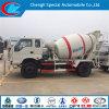 Small Cheap 6 Wheels 4cbm Concrete Mixer Truck