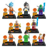 ABS Plastic Toys Bricks Dragon Ball Z Action Figures 10235171