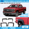 for Silverado 2014- Short Bed Injection Mold Fender Flares