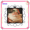 Metal Frame Ceramic Souvenir Printing Plate for Christmas Gift