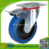 Industrial Blue Rubber on PP Wheels Caster