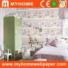 Colorful Candy Pattern Wall Paper for Kids Room Decoration