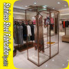 Alibaba China Luxury Stainless Steel Clothes Metal Display Rack