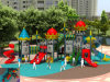 Kaiqi Large Sized Castle Themed Children′s Playground Equipment (KQ50053A)