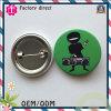 Ninja Design Series Green Color Round Badge
