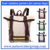 Durable Washed Canvas Backpack School Bag for Students