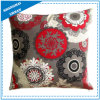 Mandala Pattern Printed Polyester Throw Pillow