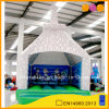 White Inflatable Bounce Castle with Colorful Cartoon Printing (AQ02266)