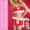 Deluxe Velvet Christmas Santa Teddy Lingerie