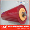 Quality Assured Red Color Transport System Conveyor Idler Roller Diameter 89-159 Huayue