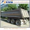 35m3 U-Shape Hydraulic Semi Bulk Dumper Truck Trailer/ Tipper for Sale