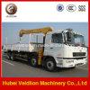 Camc 8X4 16 Ton Truck with Crane (telescopic boom)