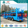3 Axle Skeleton Frame Car Transport Semi Trailer
