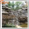 Garden Decoration Fiberglass Artificial Rock Waterfall