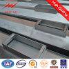 11.88m-1850dan Galvanized Steel Poles Utility Pole with France Standard
