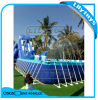 High Quality PVC Metal Frame Swimming Pool with Floating Water Toys