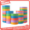 Cheap Decorative Beautiful Masking Coloring Washi Paper Tape