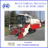 High Quality Self-Propelled Rubber Track Combine Harvester 4lz-5.0e with Cabin
