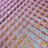 FRP Pink Molded Gratings for Decoration, Platforms, Fencing, Walkway