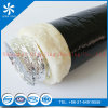 M1 Fiberglass Insulation Aluminum Flexible Duct (Alu duct+Black PE film)