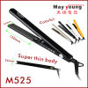 Golden Ceramic Coating LED Hair Styler Straightener