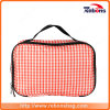 Customized Pink Top Quality Toiletry Hand Cosmetic Bag for Lady