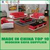 Newest European Living Room Furniture Leather Sofa Divani