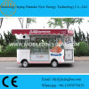 Original Disigned Mobile Food Trucks for Sale with Automatic Displaying Cabinet