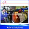 China Portable Steel Pipe/Tube CNC Plasma Cutting Machine Price