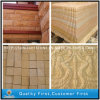 Bush Hammered/ Honed Yellow Sand Stone for Tiles