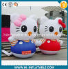 Custom Made Inflatable Hellokitty Cartoon Model for Kids / Advertising