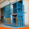 Heavy Duty Guide Rail Lift Warehouse Use