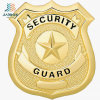 Wenzhou Jiabo Supply Cheap Custom Gold Police and Security Badges for USA Souvenir