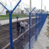 Blue Color PVC Coated Welded Mesh Industrial Fence