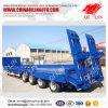 Tri-Axle Hydraulic Low Bed Truck Trailer 60t Low Bed Semi Trailer