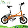 Al-Alloy Mini Ebike Quick Foldable E-Bicycle 14′′ Folding Electric Bike
