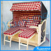 New Style Double Wooden Folding Beach Chair