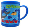 Custom 3D PVC Promotional Plastic Mug Cup for Children (MK-1023-104)