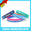 Promotion Epoxy Silicone Bracelet Wristband with Embossed (TH-08219)