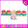 2014 New Colorful Block Wooden Balance Game, Educational Wooden Balance Game, Magnetic Beads Wooden Balance Game W11f017