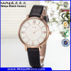Leather Watch Alloy Watch Classic Business Ladies′ Watch (Wy-107A)