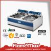 10+10L 2 Tank 2 Basket Electric Chip Fryer (HEF-906)